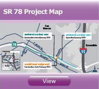 SR 78 Project Map