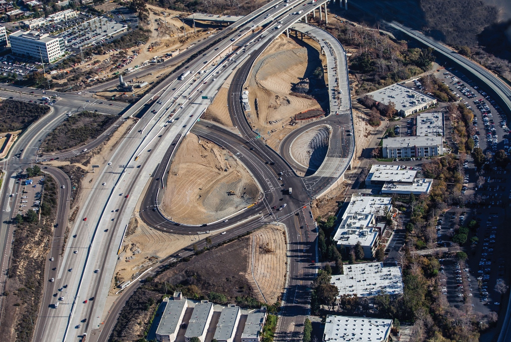 I-805 HOV/Carroll Canyon Road Extension project