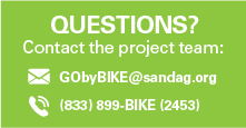 Contact the GO by BIKE project team.