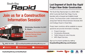 Construction Information Session